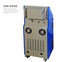 Best Semi Automatic R134a Refrigerant 3HP AC Recovery Machine For Cars wholesale