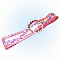 China Women's Fashion Belt with Buckle on sale