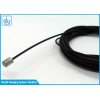 China Custom Wire Rope Assembly Black Coating Aircraft Cable Assemblies With Terminals on sale