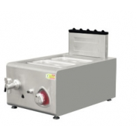 China E-RQT-400G Commercial Restaurant Kitchen Equipment Countertop Gas Bain-Marie on sale