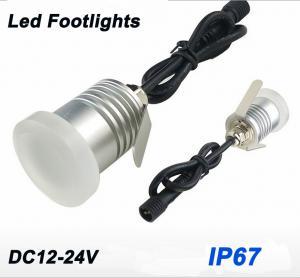 Best Mini Recessed Led Wall Corner Lights 12V Garden Patio Decking Lights IP67 Low Voltage Outdoor Led Landscape Lighting wholesale