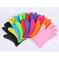 Best Silicone Heat Resistant Oven Gloves Grilling BBQ Baking Heat Insulated Gloves wholesale