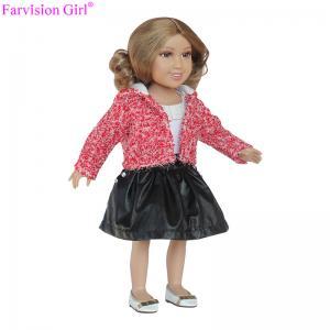 China Hot sale custom lol little girl doll 18 inch toy handmade cloth vinyl dolls on sale