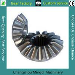 Best OEM ODM Precision Hobbing Steel Straight Bevel Gear 2 Or 3 Ratio wholesale