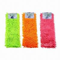Best Microfiber chenille mop heads with sponge, customized designs are accepted wholesale