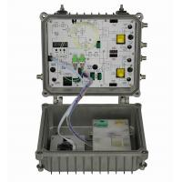 China 4 way AGC outdoor optical receiver on sale