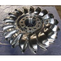 Buy cheap Pelton Wheel / Turbine Runner with Forge  CNC Machine for Power 2MW - 20MW from wholesalers