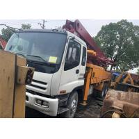 China 2010 Year ISUZU Used Putzmeister Concrete Pumps 42M With M42-5RZ Boom Model on sale