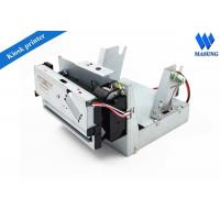 Cheap Low Noise Receipt Kiosk Thermal Printer For Inquiry Machine , Thermal Ticket Printer for sale