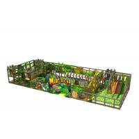 Best Middle Size Kids Indoor Playground Equipment Inside Jungle Gym Anti Crack wholesale