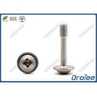 Best DIN 967 Stainless Steel Philips Round Washer Head Captive Panel Screws wholesale