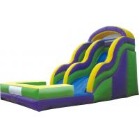 China Commercial Giant Outdoor Inflatable Water Slides Game for Adult, Kids Playing for fun on sale