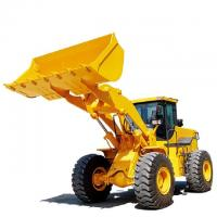 Best 4WD Mini Backhoe Wheel Loader 3200mm Dumping Height Automatic Transmission wholesale