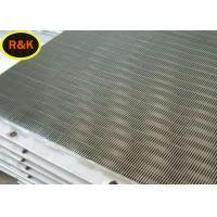 Best V Shape Wedge Wire Screen Easy Leak High Flexibility For Liquid / Solid Separation wholesale