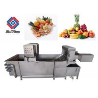 Best Automatic Air Bubble Vegetable And Fruit Washing Machine For Food Processing Industry wholesale