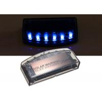 Buy cheap Solar LED Warning Lights 6LED Flashing Anti Theft Proof Light For Car from wholesalers