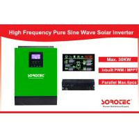 Best 1-5KVA MPPT Solar Controller Pure Sine Wave Inverter for Home Use wholesale