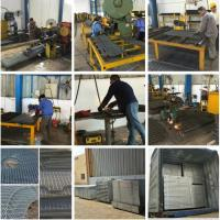 process of steel grating