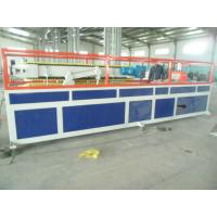 China PP PE PVC WPC Profile Production Line With Double Screw Extruder on sale