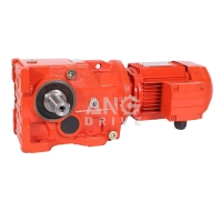 China Three Single Phase AC Gearmotor Right Angle Gearbox Bevel Helical Gear Motor on sale