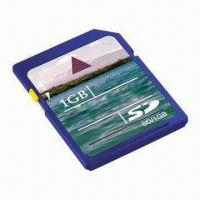 Best SDHC Card for Cameras with 100% Full 1GB Capacity and Low Battery Consumption wholesale
