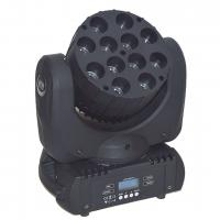 China Disco Dj LED Moving Head Lights 12x10W , RGBW 4 In 1 High Power LED Wash Light on sale
