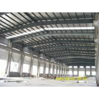 Best steel structure frame workshop warehouse and sandwich panel wall roof and roller shutter door wholesale