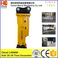 Buy cheap Box type Soosan  SB81 YLB1400 Korea quality Hydraulic excavator breaker product