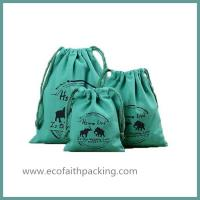China Cotton Linen Drawstring Bags Cotton Organizer Drawstring Bag Cotton storage bag on sale
