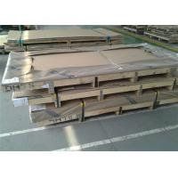 China Hot Rolled S31803 Grade Duplex Stainless Steel Plate 600 - 2000mm Width on sale