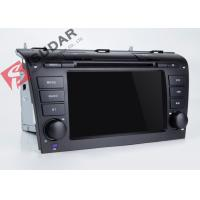 Cheap Mazda 3 Touch Screen Head Unit , Wifi Modem Android Gps Car Stereo With Mirrorlink Technology for sale