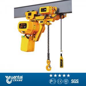 Best 1/1.5/2/3/5/10 ton electric chain hoist wholesale