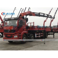 China Shacman M3000 8X4 Truck Mounted 25Tons Knuckle Boom Palfinger Crane SPK50002 on sale