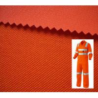China Reflective Safety Workwear Orange Fabric / Fluorescent Coverall Fabric / High Visibility Fabric for worker on sale