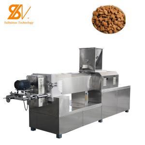 China Double Screw 180kw 3000kg/H Dry Dog Food Machine on sale