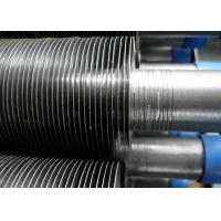 China A179 G Type Finned Aluminum Tubing , Embedded Extruded Fin Tube 2.1-5.0mm Pitch on sale