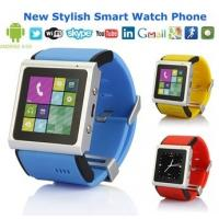 Buy cheap EC309 Watch Phone MTK6577 Dual Core 1.2GHz 1.54 Inch Screen 512MB 4GB Android 4 from wholesalers