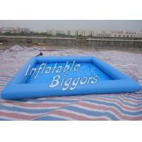 Best Residential River Inflatable Water Pools Rental For Water Ball / Boat wholesale