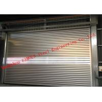 Best Indoors PVC Fast Rapid Rise Door And Outdoors Hard Metal High Speed Rolling Shutter Door wholesale