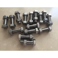 Best DIN933 DIN931 Stainless Steel 321 Hex Bolt Fasteners ASTM A193 GR.B8T wholesale