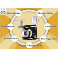 Powerful AC 1000W Multifunction Stand Mixer , Planetary Gear Cookies Food Blender