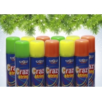 Best Colorful Non Flammable EN71 Party String Spray wholesale