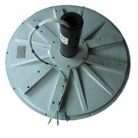 vertical wind turbine used 3 phase AC ouput Permanent Magnet Generator, less weight, high efficient