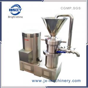 Food Grade Pepper/Peanut/Seasam Colloid Mill by stainless steel  (JMJ/JMS)