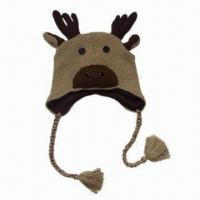 China Cute animal hat, suitable for kids and women, customized designs are accepted, fashionable style on sale
