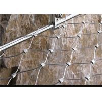 Best Weatherproof Stainless Steel Wire Rope Net , Easy Installation Ss Rope Mesh wholesale