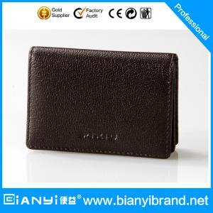 Best 2015 Men's Best-Selling Wholesale Leather card Bag wholesale
