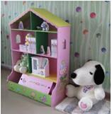 China Superway 2015 Wooden Children educational Toy-Wooden Doll house-play toy house on sale