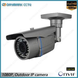 Best CCTV Zoom 2 Megapixel Outdoor IP Camera 2.8-12mm Lens wholesale