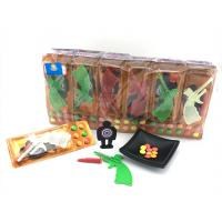 Best 3.4g Shooting Battlefield Tasty Novelty Candy Toys Compressed With Gun Multi Fruit Flavor wholesale